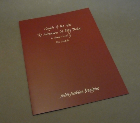 Jjclub graphic novel the adventures of billy bishop 1pc for John jenkins design